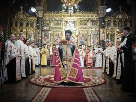 Празнично бдение в митрополитската катедрала, в чест на св. вмчца Неделя