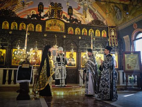 На Велики вторник бе отслужена Архиерейска Преждеосвещена св. Литургия в София