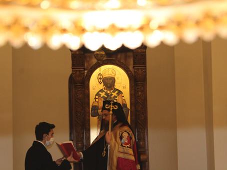 """В Лозенския манастир """"Св. апли Петър и Павел"""" бе отслужена архиерейска вечерня"""