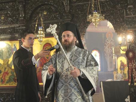 """На Велики вторник бе отслужена Преждеосвещена литургия в храм """"Преображение Господне"""""""