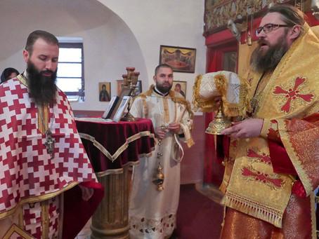 Тържествено бе отбелязан денят на св. Спиридон Тримитунтски