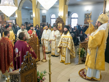 Празник на св. ап. Андрей Първозвани с архиерейска св. Литургия в столицата