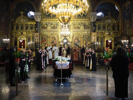 Слово на епископ Поликарп при опелото на Ставрофорен иконом Кръстан Вукашинов  – 08.06.2020 г.