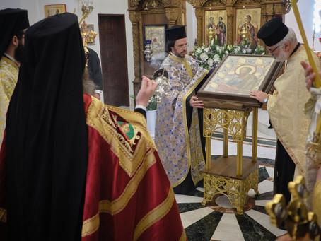 """Архиерейска празнична вечерня в Лозенския манастир """"Св. апостоли Петър и Павел"""""""