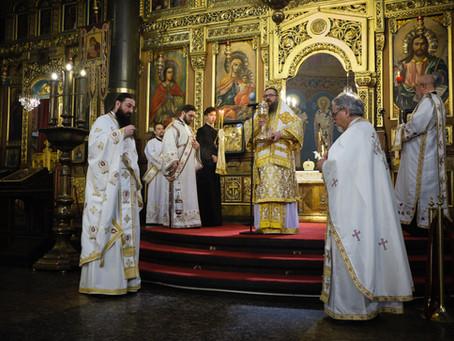 """Велики четвъртък в катедралния храм """"Св. вмчца Неделя"""""""