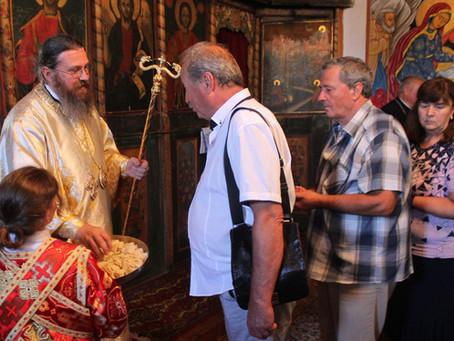 В село Стоб тържествено бе отпразнуван празникът на св. Прокопий Йерусалимски