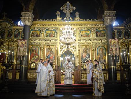 На Велика събота бе отслужена Василиева св. Литургия