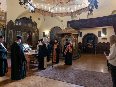 """Благодарствен молебен в столичния храм """"Св. Параскева"""""""