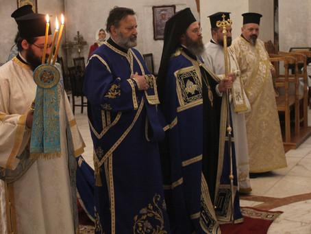 """Две ръкоположения и икономска офикия на Акатистова събота в храм """"Рождество Богородично"""""""