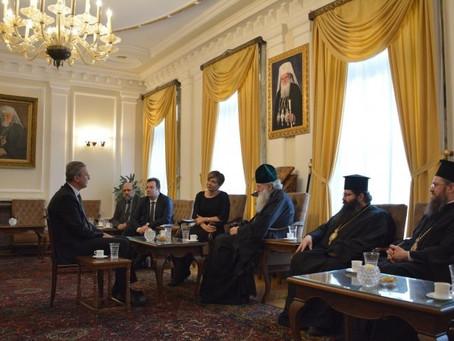 Българският патриарх Неофит прие  Нейно Превъзходителство Айлин Секизьок, посланик на Р Турция у нас
