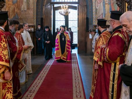 """Катедралният храм """"Св. Неделя"""" отбеляза празника на св. крал Стефан Милутин"""