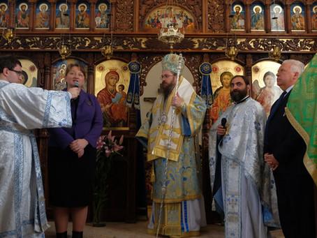 Празникът на св. Серафим Саровски бе отбелязан тържествено в Горна Малина