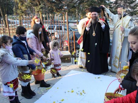 Храмов празник с архиерейска св. Литургия в с. Лозен