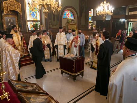 В чест на светите братя Кирил и Методий бе отслужена архиерейска вечерня в София