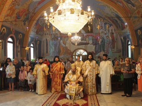 """С тържествена архиерейска св. Литургия столичният храм """"Преображение Господне"""" отбеляза празника си"""
