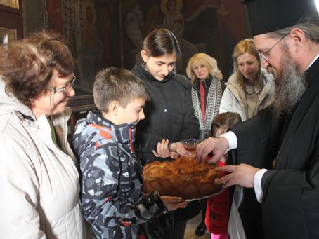 """Архиерейска литургия в храм """"Св. Архангел Михаил"""", кв. Симеоново"""