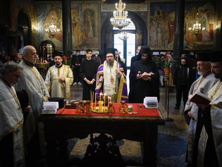 """На Велика сряда бе отслужен Велик маслосвет в митрополитската катедрала """"Св. вмчца Неделя"""""""