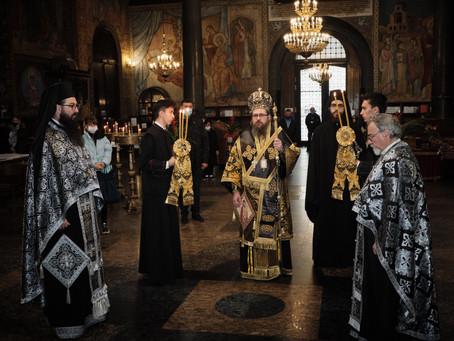 Днес бе отслужена последната за тази година Преждеосвещена литургия
