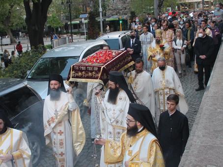 """В митрополитската катедрала """"Св. Неделя"""" съборно бе отслужено Опело Христово"""