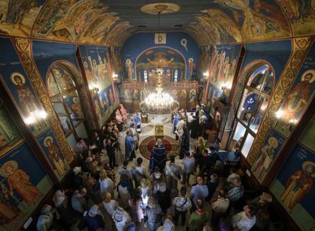 """Архиерейски Молебен канон на Пресвета Богородица в столичния храм """"Успение Богородично"""""""