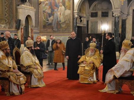Патриарх Неофит възглави празничната св. Литургия по повод Неделя православна