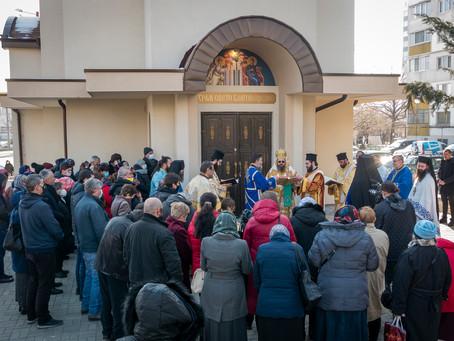 """Пълно освещаване на нов храм """"Свето Благовещение"""" в столичния кв. """"Дружба 2"""""""
