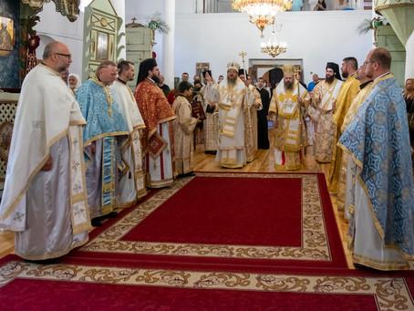 """Тържествена архиерейска служба в кюстендилския храм """"Св. Димитър"""""""