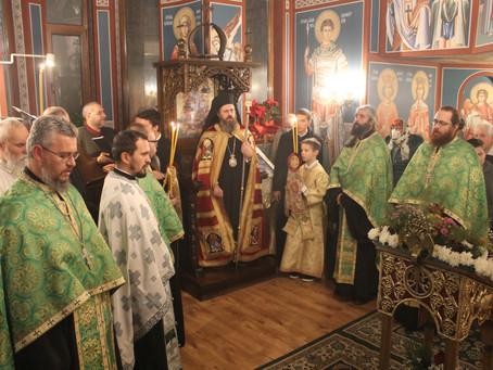 Празнично вечерно богослужение в чест на св. Наум Охридски