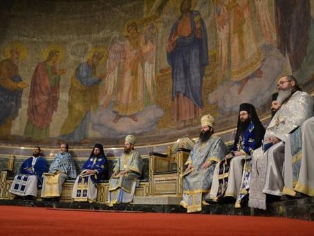 Тържествена Василиева св. литургия за празника Богоявление в столицата и освещаване на бойните знаме