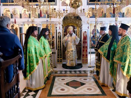 Паметта на св. Антоний Велики бе почетена с архиерейска св. Литургия в Църногорския манастир