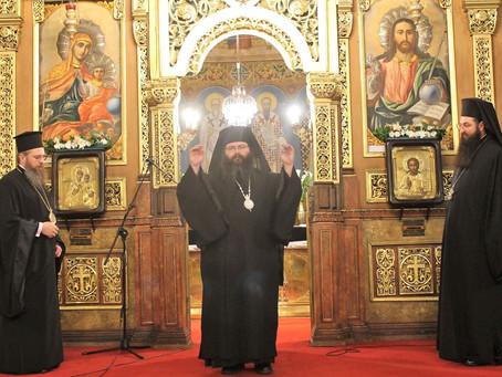 Съборно изпълнение на Великото повечерие с първа част от канона на свети Андрей Критски