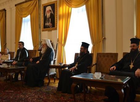 """Столичното читалище """"Възраждане 1928"""" награди предстоятеля на БПЦ - патриарх Неофит"""