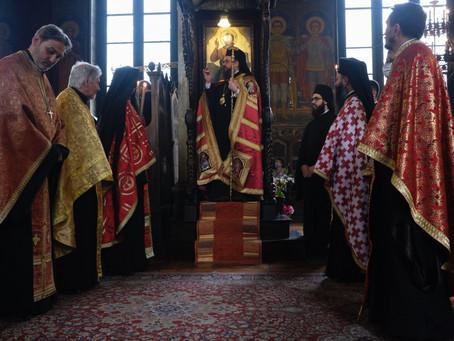 Празнична архиерейска вечерня в чест на св. Николай Софийски