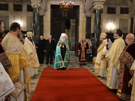 Василиева св. Литургия и молебен за новата 2020 година бяха отслужени в Патриаршеската катедрала