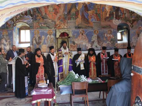 """Опело и погребение на монахиня Агатия, игуменка на Долнолозенския манастир """"Възнесение Господне"""""""