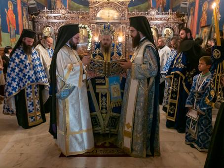 """Съборна вечерня и Богородичен канон в столичния храм """"Успение Богородично"""" на пл. """"Ручей"""""""