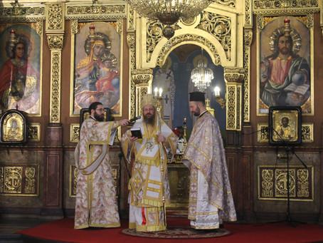 """Aрхиерейска св. Литургия и свещеническо ръкоположение в митрополитската катедрала """"Св. Неделя"""""""
