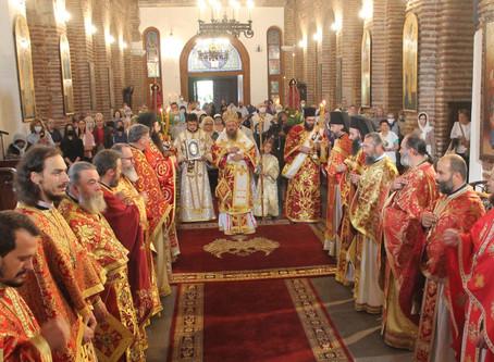 Празникът на София бе отбелязан с Архиерейска св. Литургия и патриаршеско благословение