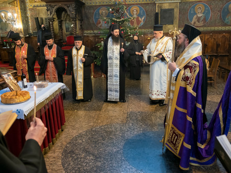 Панихида за 40 дни от упокоението на ставрофорен иконом Христоско Казакин
