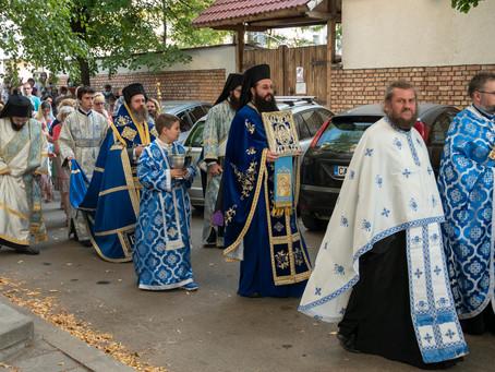С архиерейска вечерня и лития бе посрещнат празникът Успение Богородично в столицата