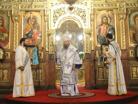 Архиерейска св. Литургия за небесния покровител на Софийския митрополит и Български патриарх Неофит