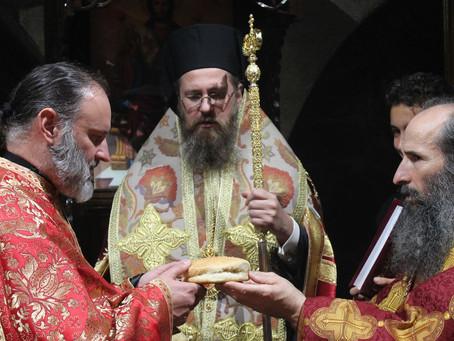 """Архиерейска вечерня в храм """"Св. Петка Самарджийска"""", в чест на св. Петка Иконийска"""