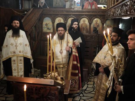 Архиерейска вечерня за празника Пренасяне мощите на св. Николай Чудотворец
