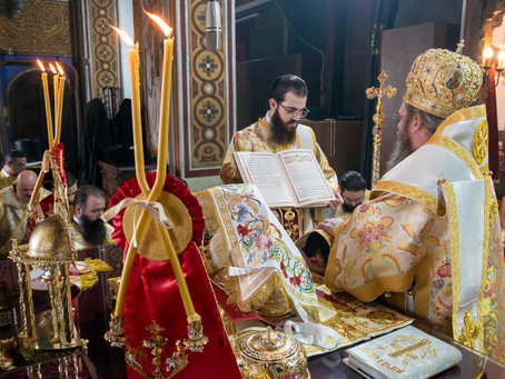 """Две ръкоположения и три офикии за Неделя Сиропустна в столичния храм """"Св. Троица"""", кв. """"Гео Милев"""""""