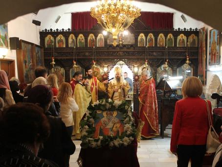 Архиерейска св. Литургия за празника на св. Терапонтий