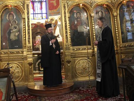 Съборно изпълнение на Великото повечерие с четвърта част от канона на свети Андрей Критски