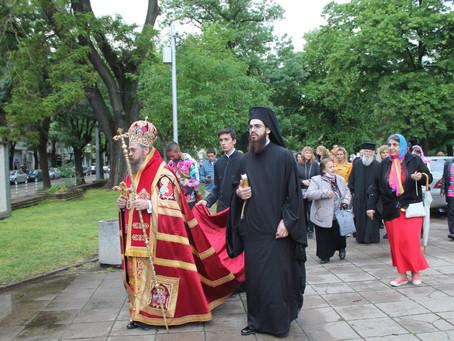Архиерейска празнична вечерня и лития в чест на св. Николай Софийски