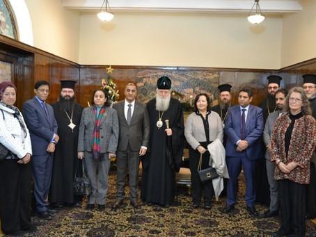 Българският патриарх Неофит се срещна с Арабския дипломатически корпус