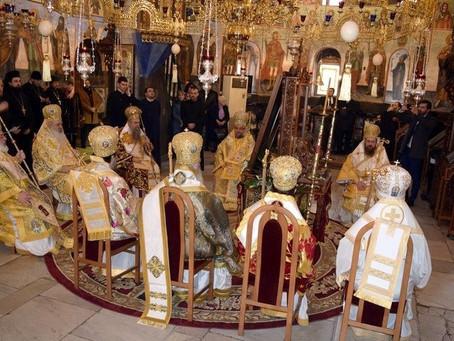 Юбилей на Велички епископ Сионий и Архиерейска богослужба в Бачковския манастир на Стефановден