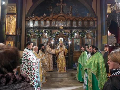 """Храм """"Св. Йоан Рилски"""" в гр. Перник отбеляза своята 100 годишнина с архиерейска служба"""